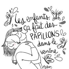 mot-enfant Jolie Phrase, One Liner, Interesting Quotes, Life Philosophy, French Quotes, Drawing Tips, Encouragement, Kids And Parenting, Poetry