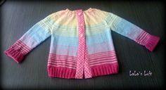 Knitted jacket cardigan