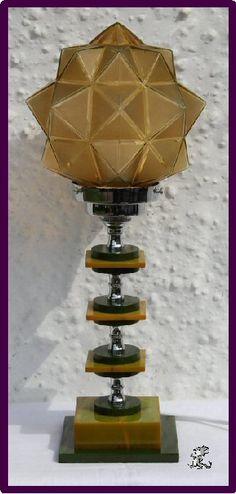 Art Deco Bakelite Lamp 1930's