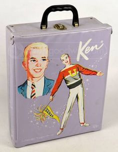 Vintage Ken Doll: Definitely had one at my granmothers house as a child (case included)--Barbie also!!