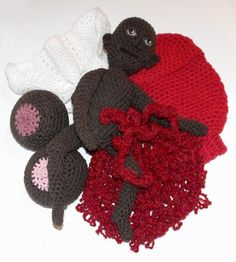 Childbrith Teaching Models uterus baby set by BessetteArt on Etsy, $195.00