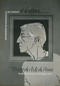 Homar's own poster for Ponce's Museum of Art Expo