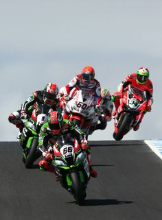 Tom Sykes Photos Photos: World Superbike Championship Round One - Race 2 Racing Team, Road Racing, Tom Sykes, Kawasaki Bikes, Phillips Island, Zx 10r, Super Bikes, Motogp, Life Is Beautiful