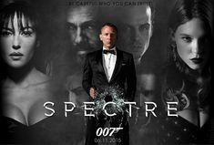 Spectre will be the twenty-fourth James Bond film produced by Eon Productions. It will feature Daniel Craig in his fourth performance as James Bond, and Christoph Waltz as Franz Oberhauser, the film's James Bond Girls, New James Bond, James Bond Movies, Daniel Craig James Bond, Spectre 2015, 007 Spectre, Entertainment, Bond Girls, Ancient Art