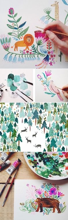 Illustrations by Rosie Harbottle / On the Blog!