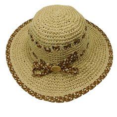 Criss Cross Braid Toyo Sun Hat