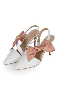 **BOW Court Shoes By Unique - Topshop