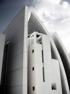 Jubilee Church  Tor Tre Teste  Rome, Italy  1996 - 2003--Architect: Richard Meier