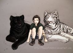 Kelsey, Ren, and Kishan from the Tiger's Curse series