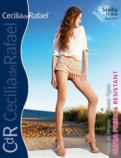 Cecilia de Rafael SEVILLA Glossy Shiny 15 Denier Pantyhose