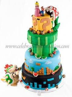Super Mario Bros Cake. Mind.Blown,