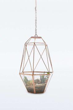 Urban Grow – Kokon-Terrarium aus Kupfer zum Aufhängen