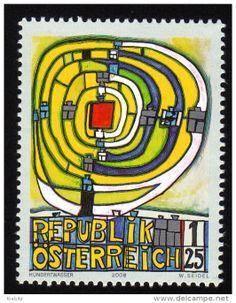 Stamps / hundertwasser - Delcampe.net