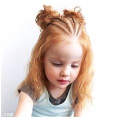 This hairstyle on Shelley's @prettylittlebraids daughter looked so adorable  So I recreated it for my girl and I think she looks real cute with it too   Entree for #Prettylittlebraidsgiveaway #hair #hairstyle #instahair #hairstyles #hairdo #braid #plait #stunninghair #beautifulhair #longhair #braidinspo #hairoftheday #hairideas #beautifulhair #braidideas #hairofinstagram #hairfashion #coolhair #veselovatskaya_nastia #hotbraidsmara #love #cute #follow #modernsalon #behindthechair #braids...