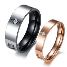 Cincin couple stainless steel - ICCR1503 #couplering #cincincouple