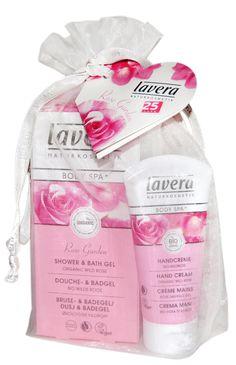 lavera - Body Spa - Rose Garden Gift Set  Shower Gel + Hand cream