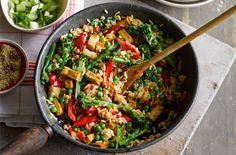 Veggie Rice Bowl Recipe | Vegetarian Recipes