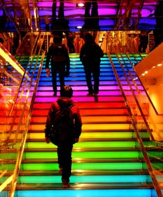rainbow colors architecture - Google Search