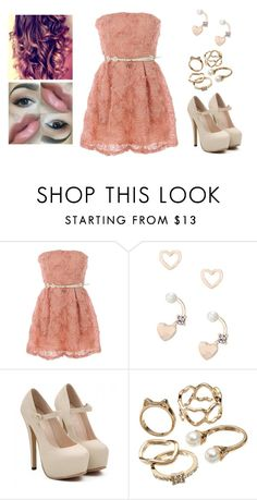 """""""Summer Prom ♥"""" by muppets-cookie-monster ❤ liked on Polyvore featuring Lipsy and Candie's"""