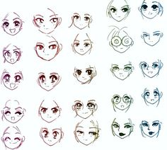 Anime Drawing Ideas - this how to draw manga boy's hair manga girl's hair this how to draw manga' eyes this one, how to dram manga' nose and mouth this one, how to draw manga's face after … Realistic Eye Drawing, Manga Drawing, Manga Art, Drawing Sketches, Art Drawings, Anime Art, Drawing Eyes, Anime Chibi, Drawing Skills