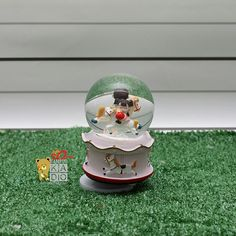 Carousel in musical glass,  check it out http://bit.ly/2rbO58p