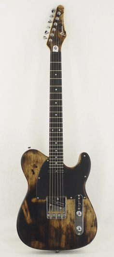 MANNE Redwing Satin 6 T-style electric guitar