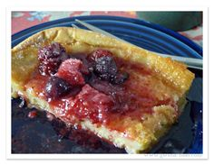 Low Carb German Pancake Recipe {Trim Healthy Tuesday} Only 4.6 carbs in this recipe.