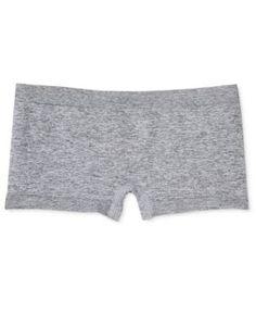 Maidenform Seamless Minishort Underwear, Big Girls (7-16) - Gray XL