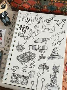 Harry Potter Doodles Dessin Facile, Dessin Au Crayon, Dessin Graphique, Dessin Princesse, Dessin Personnage, Dessin Noir Et Blanc, Dessin Manga, Dessin Tatouage, Dessin Disney, Dessin Visage, Dessin Realiste, Dessin Fille. #dessinnature #dessininspiration #dessinange #dessinchien