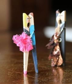 Creative idea of making your clothe pegs looked glamourous