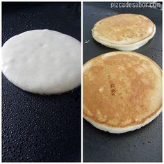Waffles, Pancakes, Dessert Recipes, Desserts, Banana, Yummy Food, Bread, Breakfast, Bts