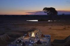 What a setting for supper! Best Sunset, Game Reserve, Tree Tops, Ecology, Savannah Chat, In The Heights, Waves, Camping, Outdoor