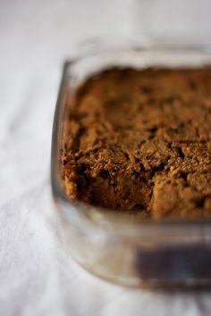 Sweet potato & coconut pudding // vegan, gluten-free, soy-free (+ nut-free option)
