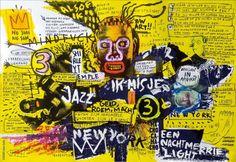 Basquiat Jean-Michel Basquiat : American Artist ( 1960 - 1988 ) More At FOSTERGINGER @ Pinterest