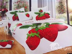 Strawberry Bedding Set - only in twin and full
