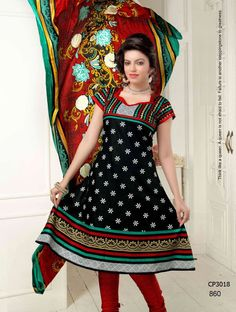Latest Fashionable simple salwar kameez Wholesaler,Supplier,Exporter,Stockist and Manufacturer,Bollywood Celebrity Replica Anarkali Suit Dress materials,Readymade Designer Punjabi Wedding collection,Casual Printed Long Cotton exclusive party wear,best price sale tradditional indian womens clothes Churidar Suits, Anarkali Suits, Salwar Kameez, Black Indians, Indian Look, Suit Fabric, Bollywood Celebrities, Cotton Style, Simple Style