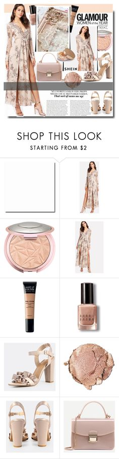 """""""Glamour Women / SHEIN"""" by fashiondiary5 ❤ liked on Polyvore featuring Goody, MAKE UP FOR EVER, Bobbi Brown Cosmetics, Stila, WithChic and shein"""