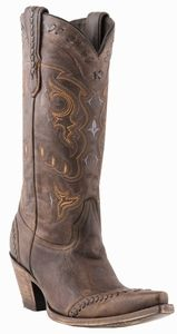 Womens Lucchese Since 1883 Cafe Brown Calf M5020