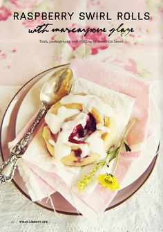 What Liberty Ate, a gorgeous digital magazine based in Romania founded by talented blogger and foodie Gabriela Iancu. Gabriela brings heaps of passion and love for cooking into this magazine that you can't help but fall in love