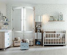 Habitación bebe http://www.mamidecora.com/a%20dormir-cunas-convertibles-ros.html