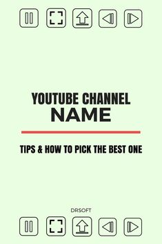 Have you decided to become a YouTuber but you're stuck on what your YouTube channel name should be? Your YouTube channel name isthe main part of brandingso it's best to give it second thoughts before deciding. Still, you can't let this decision hold you in place for too long from starting your YouTube channel. #youtubetips #vlogging #vloggingtips #youtubeforbeginners Youtube Channel Name Ideas, Start Youtube Channel, Youtube Hacks, You Youtube, Youtube Secrets, Good Youtube Names, Vlog Tips, How To Start A Blog, How To Find Out