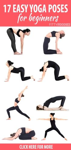 These easy yoga poses for beginners will not only help you relax but they will build your strength and flexibility as well Not to mention you will be burning calories at the same time Whats not to love fitness weightloss workouts yoga beginners Fun Fitness, Fitness Del Yoga, Fitness Motivation, Health Fitness, Pilates Training, Quick Weight Loss Tips, Yoga For Weight Loss, Weight Lifting, Easy Yoga For Beginners