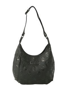 Loungefly Embossed Skull Bag