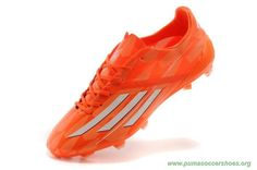 brand new 2a2b2 deff0 Cheap ADIDAS ADIZERO F50 FG Leo Messi Orange White Mens