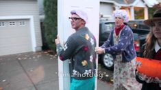 Reverse Trick or Treating - more at http://www.thelolempire.com