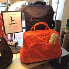 Going somewhere? Don't leave without your new nylon luggage from Paris ... Lipault Luggage at Wendy Gee! www.wendygee.com