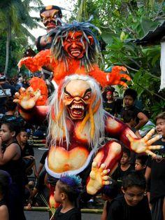 Ogoh-Ogoh Ceremony, Bali