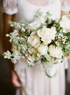 Spring Wedding Ideas | Spring Wedding Colors | Lace Wedding Ideas...pretty bouquet
