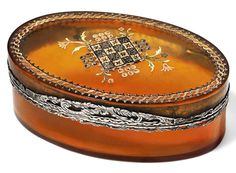 A LOUIS XV SILVER-GILT MOUNTED TORTOISESHELL PIQUE SNUFF-BOX BY JACQUES PETIT (FL. C. 1765-1773), MARKED, PARIS, 1764/1765, WITH THE CHARGE AND DISCHARGE MARKS OF JEAN-JAQUES PREVOST 1762-1768