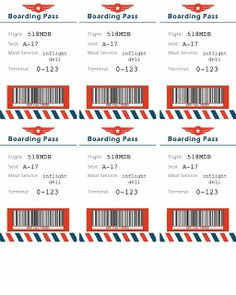 Bringing Home Ezra: American Airlines airplane themed party! Printables